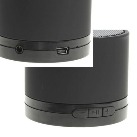 Mini Speaker Bluetooth Stereo Speaker Black iPhone, iPad and iPod