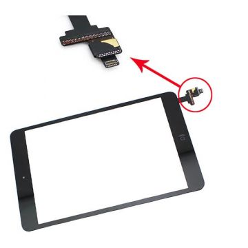 Touch Screen Digitizer iPad Mini Black with IC connector