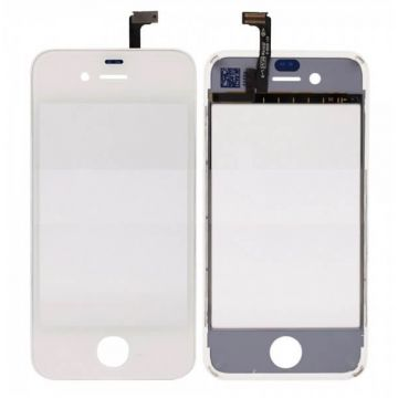 Vitre tactile et chassis complet iPhone 4S Blanc