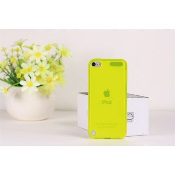 TPU Soft Case Yellow iPod Touch 5