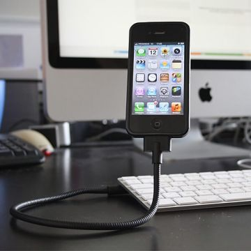Flexibele USB-oplaadkabel voor iPod iPhone iPad en Mac