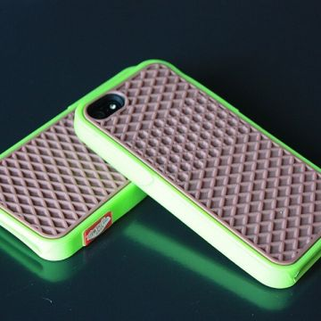 Vans Cover Case Brown and Green iPhone 4 4S