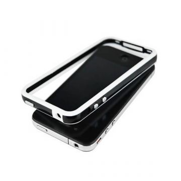 Bumper TPU for iPhone 4 & 4S Black & White