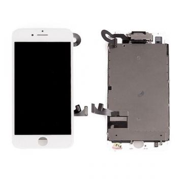 Complete 1st quality Glass digitizer, LCD Retina Screen for iPhone 8 Plus black