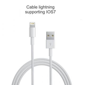 Cable lightning ios7 pour iPad IPhone IPod