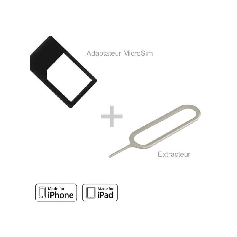 Micro Sim Adapter and Extractor