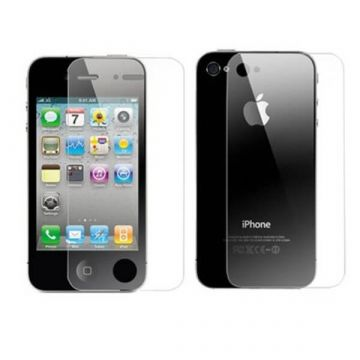 Screen Protector front & rear Brilliant iPhone 4/4S
