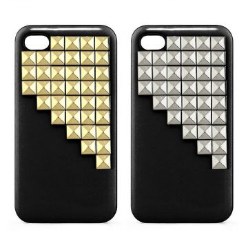 Coque rigide Pyramide Bling Bling iPhone 4 4S