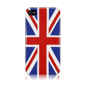 Coque Union Jack drapeau anglais IPhone 4 4S