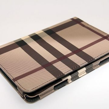 Burberry style Portfolio Stand Case iPad Mini