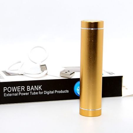 External Power Tube 2600 MAH for iPod and iPhone
