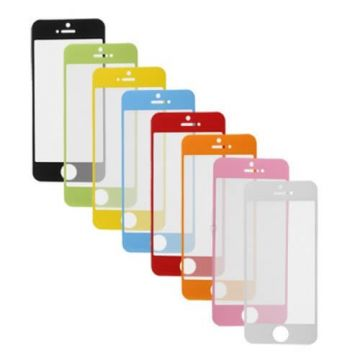 Film protection avant couleur iPhone 5/5S/5C/SE
