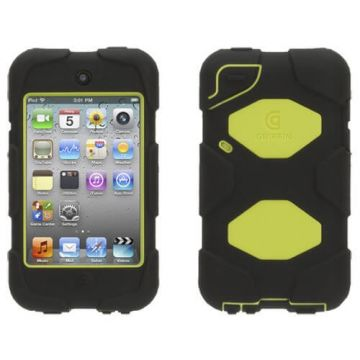 Coque indestructible iPod touch 4 verte