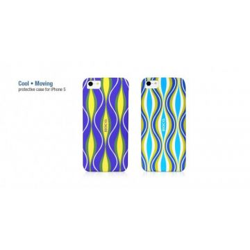 Cool Moving coque de protection ondulation iPhone 5 5S