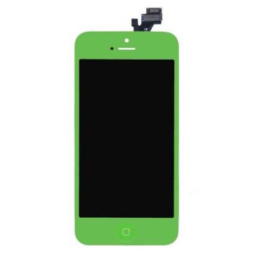 Green digitizer, LCD Retina Screen and Full Frame for iPhone 5