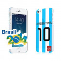 Brasil 2014 Argentina 10 World Cup Case for iPhone 5 5S