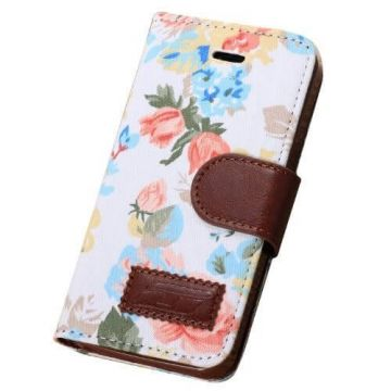 "Hülle Etui ""Flowers"" für iPhone 5, 5S"