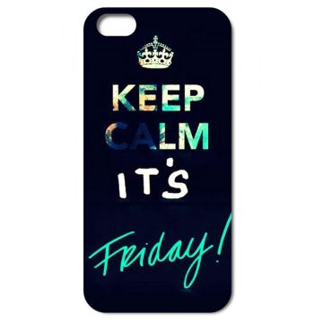 "Hardcase voor iPhone 4 4S ""Keep calm it's friday"""