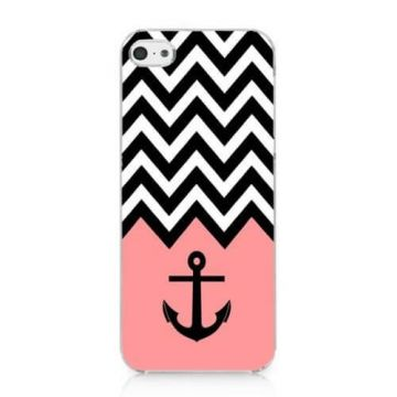 Pink Navy Series Anchor and ArrowsCase for iPhone 5C