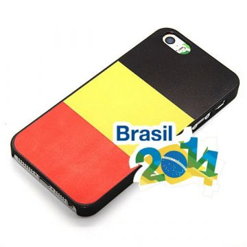 World Cup Belgian Flag Case  Brasil  NR 10  for iPhone 5, 5S