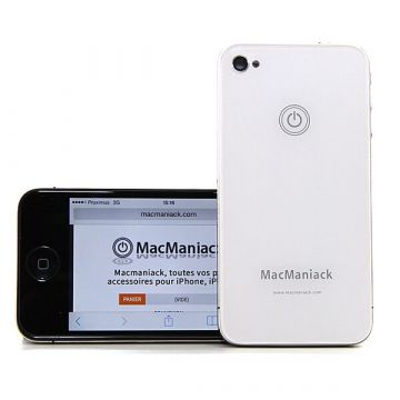 MacManiack Replacement Back Cover iPhone 4 White