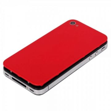 iPhone 4 red back cover
