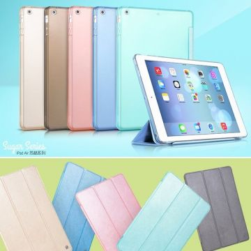 Etui Smart Case Sugar Series en cuir iPad Air / iPad 2017 / iPad 2018