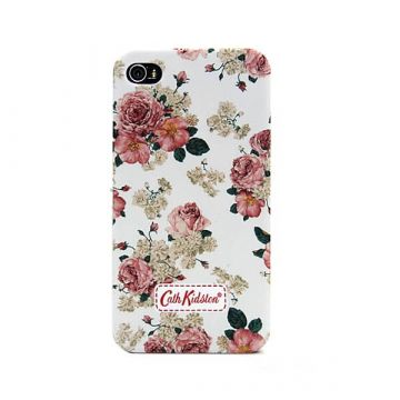 Cath Kidston White Flower Case iPhone 4 4S