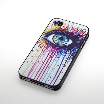 'Wonderful Eye' Hardcase for iPhone 4 4S