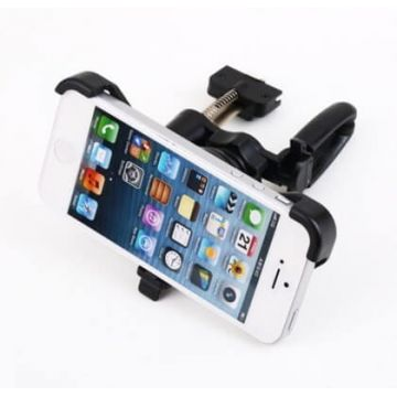 Support voiture 360° grille d'aération iPhone 5 5S