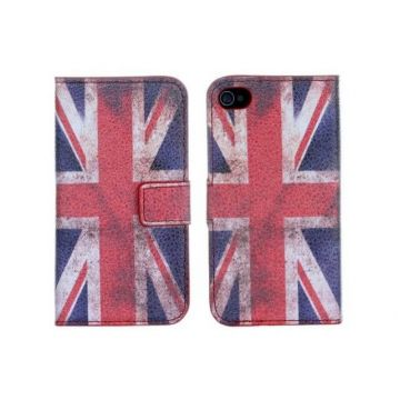 UK Vintage Etui Hülle für iPhone 4, 4S