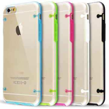 TPU iPhone 6 Plus/6S Plus soft case with coloured frame
