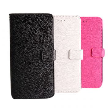 Leather Look Portfolio iPhone 6 Plus Stand Case