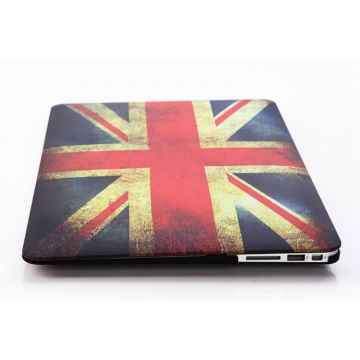 UK Vintage Flag Hard Case MacBook Pro 13""