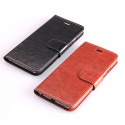 Leather imitation Portfolio iPhone 6 Stand Case