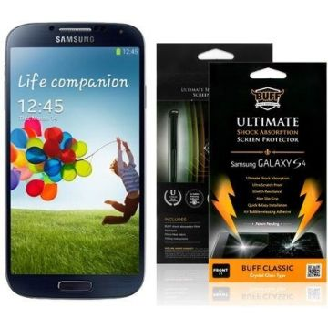 Crystal Clear Screen Protector Samsung Galaxy S4 GT-i9500 with packaging