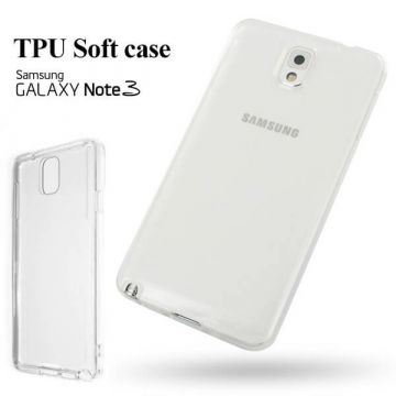 Coque souple TPU transparent 0,3 mm Samsung Galaxy Note 3