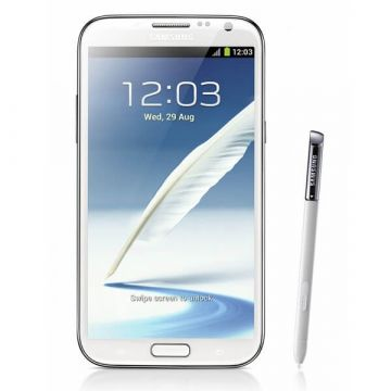 Stylet tactile touch pen blanc Samsung Galaxy Note 2