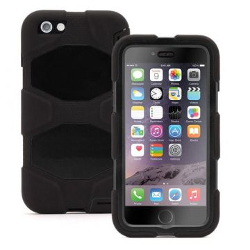 Coque indestructible noire iPhone 6 / 6S