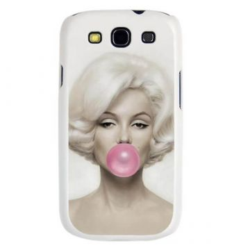 Marilyn Monroe Bubble Gum Hard Case Samsung Galaxy S3