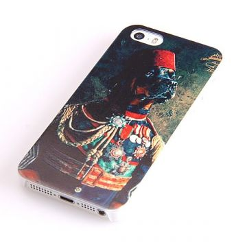 Dressed dog Czar Hard Case iPhone 5 5S