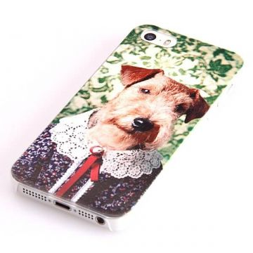 Dog Lace Collar Hard Case iPhone 5 5S