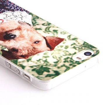Dog Lace Collar Hard Case iPhone 5/5S/SE