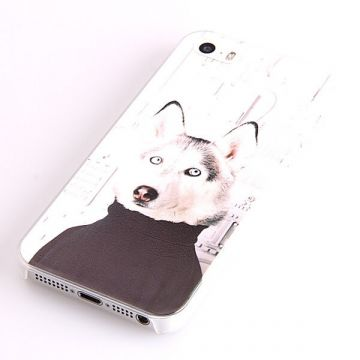 Dog turtleneck Hard Case iPhone 5/5S/SE