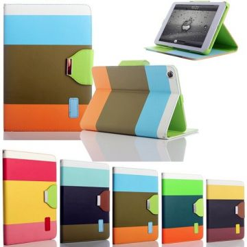Rainbow Portfolio Stand Case iPad Air / iPad 2017 / iPad 2018