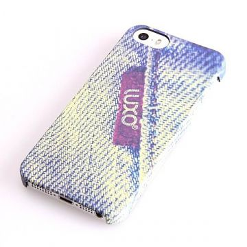 Luxo Label Jeans Patroon Hoes voor iPhone 5/5S/SE