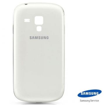 Originele back cover Samsung Galaxy S3 Mini - wit