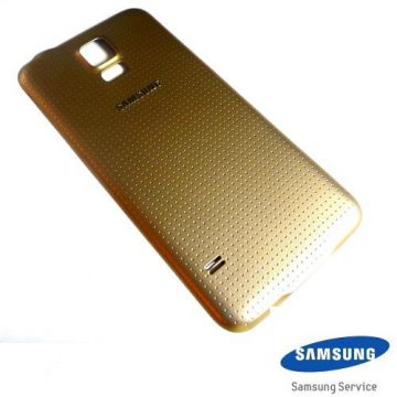 Samsung Galaxy S5 gold replacement back cover