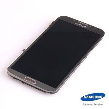 Original Complete screen Samsung Galaxy Note 2 N7105 grey
