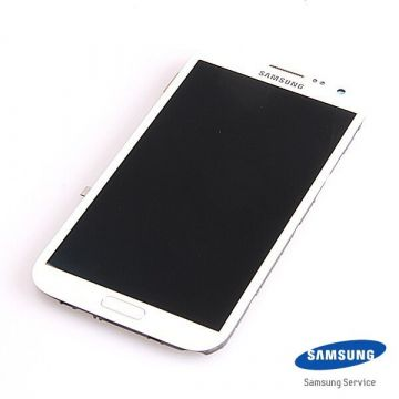 Original Complete screen Samsung Galaxy Note 2 N7105  white
